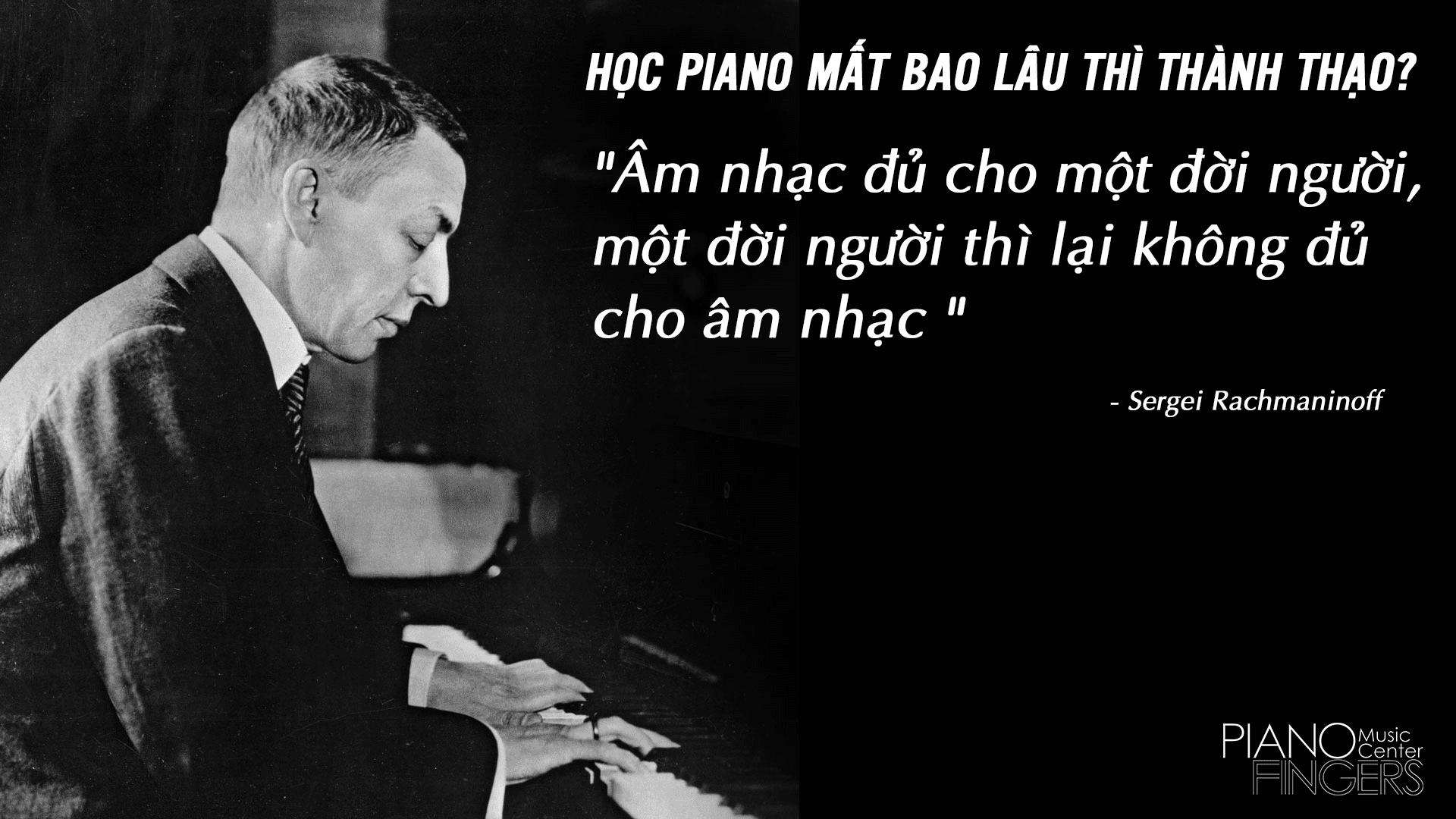 học đàn piano bao lâu thì thành thạo