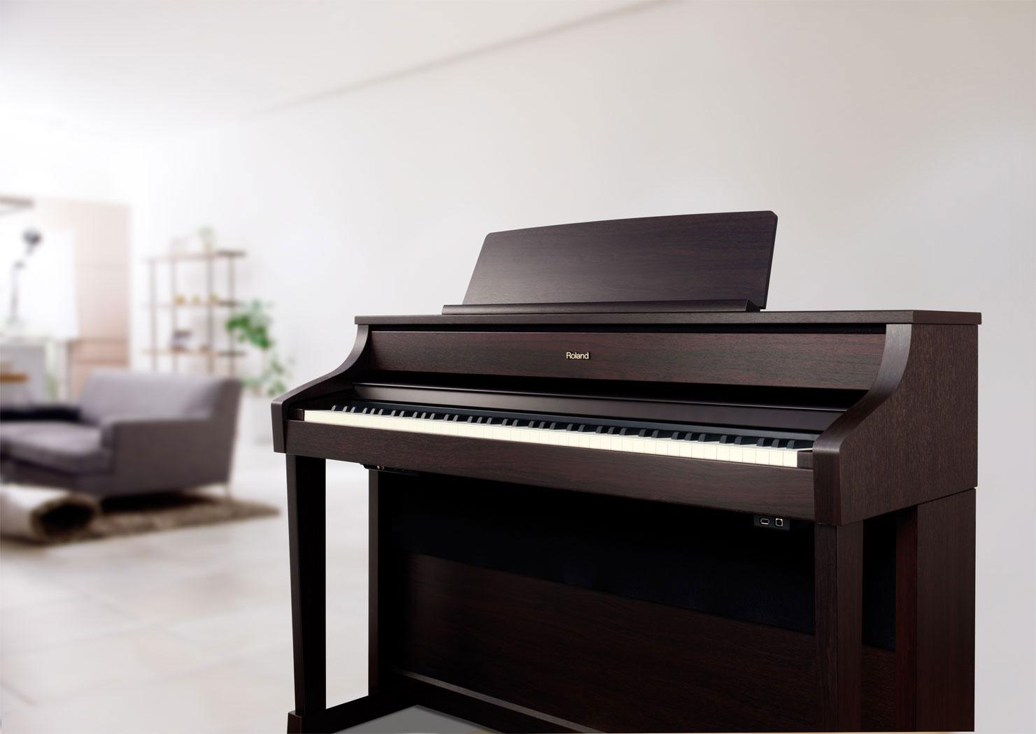 Review đàn piano điện Roland HP503